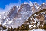 Flattop Mountain Spindrift