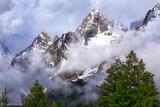 Morning Clouds in the Teton Range