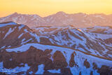 Sunset Ridges from Mount Sniktau print