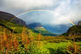 Logan Pass Rainbow