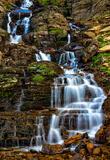 Logan Pass Waterfall