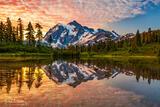 Picture Lake Sunrise