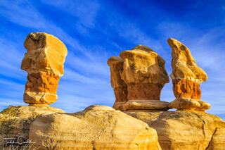 Sandstone Monoliths in Devil's Garden