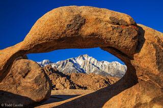 california, arches, sierras, alpine, desert, spring, horizontal