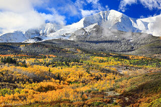 A Clash of Seasons on Mount Sopris