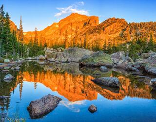 Flattop Mountain Reflection