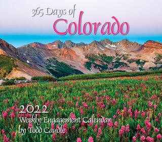 365 Days of Colorado 2022 Calendar