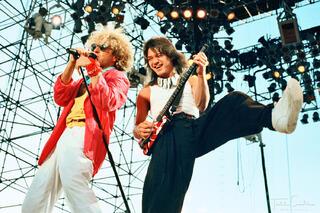 Sammy Hagar & Eddie Van Halen