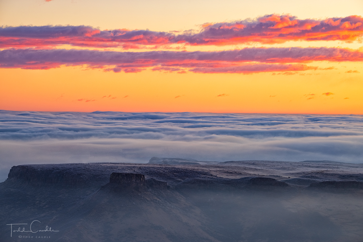 On a recent trip to photograph sunrise above the clouds from Lookout Mountain above Golden, one of the images had me pondering...